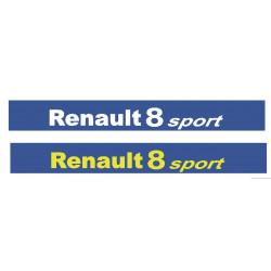 Bande Pare soleil Renault 8