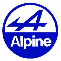 ALpine  logo simple  macaron