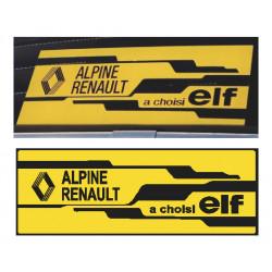 """Alpine a choisi Elf""..."