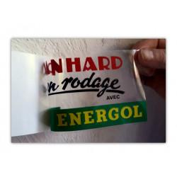 """""""Panhard en rodage"""" sticker..."""