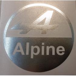 Alpine sticker en découpe...