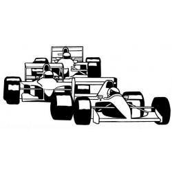 Formules 1 silhouette en...