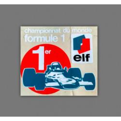 Championnat du monde de F1...