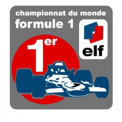 Formule 1 championnat du monde