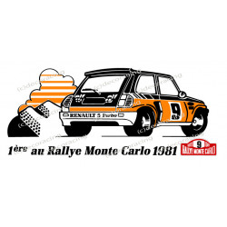 RENAULT 5 turbo Monte-Carlo...