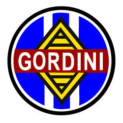 GORDINI, Logo blason rond...