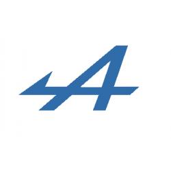"""logo  """"A"""" fléché  de..."""