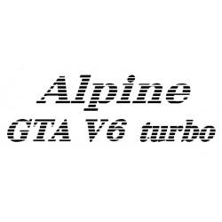 Texte ALPINE Renault zebra-...