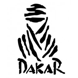 PARIS DAKAR sticker logo en...