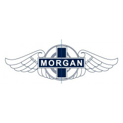MORGAN, sticker logo