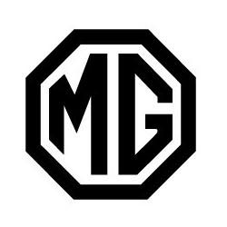 MG, logo en découpe  vintage