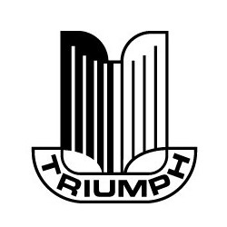 TRIUMPH, sticker logo...