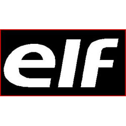 ELF, sticker logo modele...