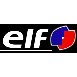 ELF, sticker logo  (en...