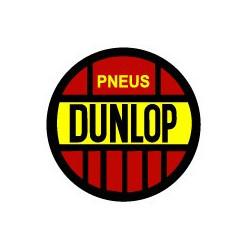 DUNLOP, sticker logo vintage