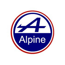 Alpine sticker logo Rond...