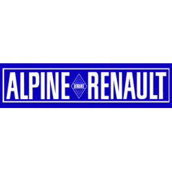 ALPINE BERLINETTE bandeau...