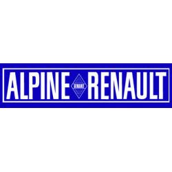 ALPINE BERLINETTE bandeau...