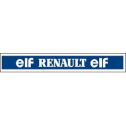 """""""ELF - RENAULT - ELF"""" bande..."""