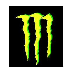 MONSTER, sticker logo (R995)