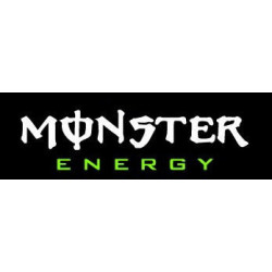 MONSTER, sticker logo...