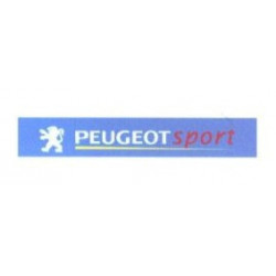 """Peugeot sport"", bande pare..."
