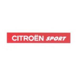 """Citroen Sport"" bande pare..."