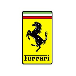 FERRARI Sticker Logo classique