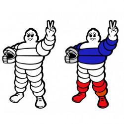 Michelin Bibendum  Pilote.