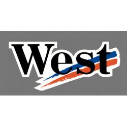 WEST sticker (R1305)