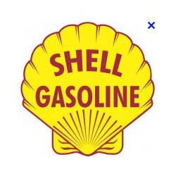 Shell gazoline logo ancien...