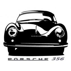 Porsche 356 (de face)...