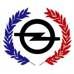 Logo Opel avec palmes...