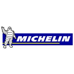 Bibendum Michelin bande bleue