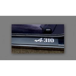 "Alpine A310 "" logo A310""..."