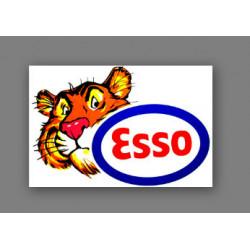 Esso logo tête de tigre (...