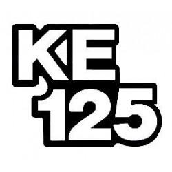 Lettrage kawasaki KE 125...