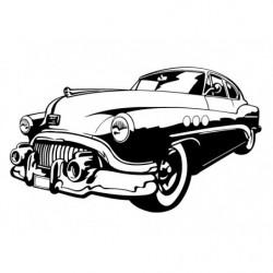 Buick silhouette décoration...