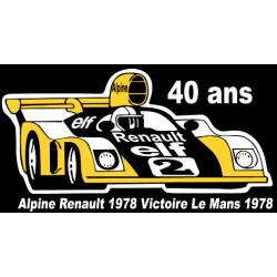 Sticker ALPINE...