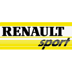 Renault sport sticker...