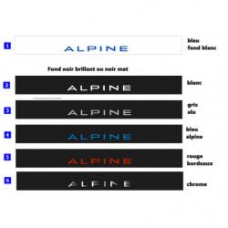 ALPINE A110 - Bandeau Pare...