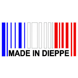 "CODE BARRE ""Made in Dieppe"""